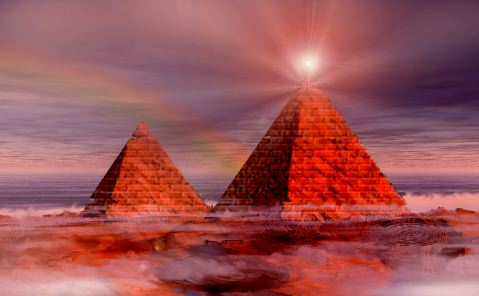 Worlds-Pyramids-Beaming-Energy-To-Mysterious-Space-Cloud