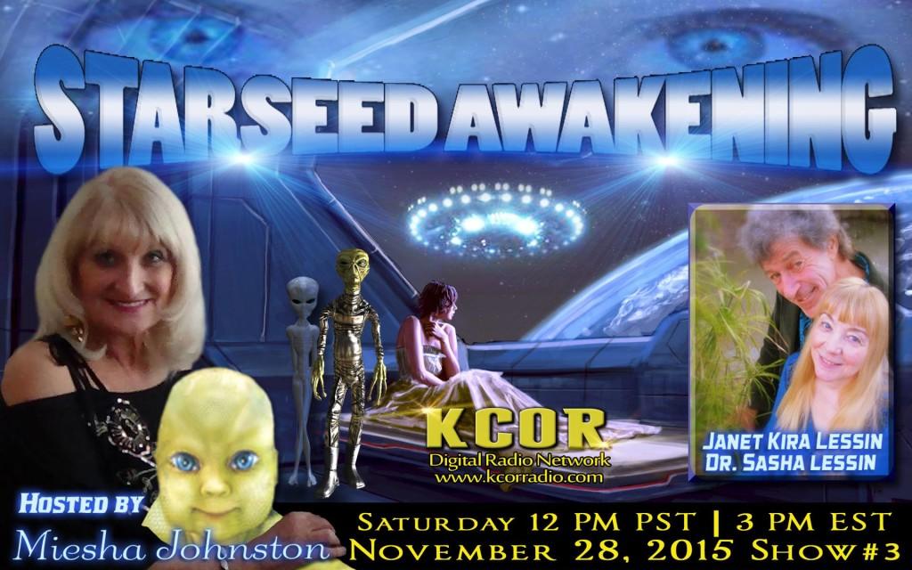 Meisha Johnston on Starseed Awakening KCOR Radio_o